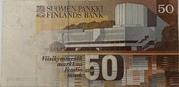 50 Markka 1986 Issue; Litta. A – revers