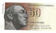 50 Markkaa – avers