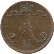 1 penni - Alexandre III – avers