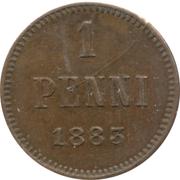 1 penni - Alexandre III – revers