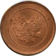10 penniä - Nicholas II (Guerre civile) – avers