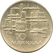 10 markkaa (Independance) – revers