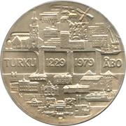 25 markkaa (750eme Anniversarire de Turku) – avers