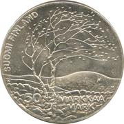 50 markkaa (Championnat d'athlétisme) – avers