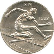 50 markkaa (Championnat d'athlétisme) – revers