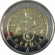 2 euros Parlement de 1863 – avers
