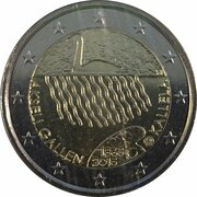 2 euros Akseli Gallen-Kallela – avers