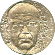 10 markkaa (Président Kekkonen) – avers