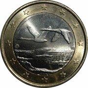 1 euro (2e type, 2e carte) -  avers