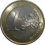 1 euro (2e type, 2e carte) -  revers