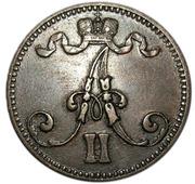 5 penniä - Alexandre II – avers