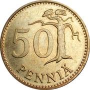 50 penniä -  revers