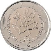 2 euros (Journalisme) – avers