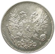 50 penniä - Nicholas II – avers