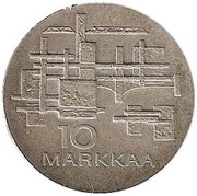 10 markkaa (Independance) – revers