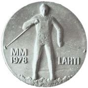 25 markkaa (Championnat du monde des sports d'hiver à Lahti) – avers