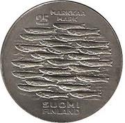 25 markkaa (750eme Anniversarire de Turku) – revers