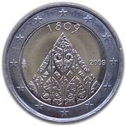2 euros Autonomie de la Finlande – avers