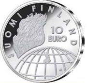 10 euros JO  Helsinki – revers