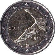2 euros Banque finlandaise – avers
