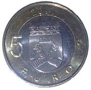 5 euros Carélie – revers