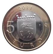 5 euros Åland – revers