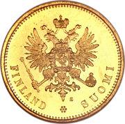 20 markkaa - Alexandre II – avers
