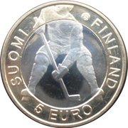 5 euros Championnats du monde de Hockey – avers