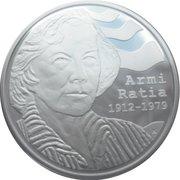 10 euros Armi Ratia – avers