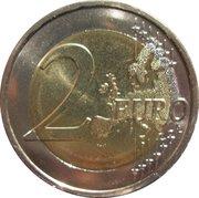 2 euros Union économique et monétaire – revers