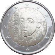2 euros Helene Schjerfbeck – avers