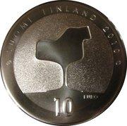 10 euros Eero Saarinen – revers