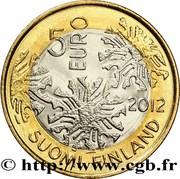 5 euros L'hiver – avers