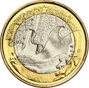 5 euros L'hiver – revers