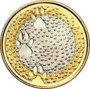 5 euros Faune – revers
