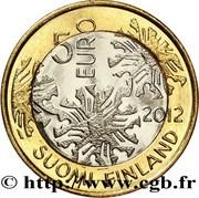 5 euros Flore – avers
