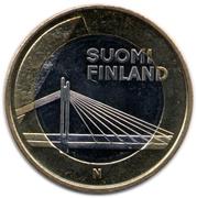 5 euros Jätkänkynttilä en Laponie – avers