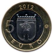 5 euros Jätkänkynttilä en Laponie – revers