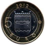 5 euros Cathédrales d'Helsinki en Uusimaa – revers