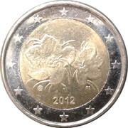 2 euros (2e type, 2e carte) -  avers
