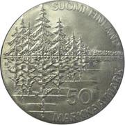 50 Markkaa  (Kalevala) – avers