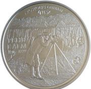 10 euros Pehr Kalm – revers