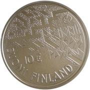 10 euros A. E. Nordenskiold – avers
