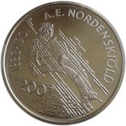 10 euros A. E. Nordenskiold – revers