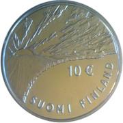 10 euros Johan Vilhelm Snellman – avers