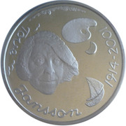 10 euros Tove Jansson – revers