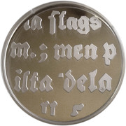 10 euros J. L. Runeberg – revers