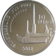 10 euros Mannerheim – revers