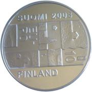 10 euros Anders Chydenius – avers