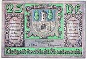 25 Pfennig (Finsterwalde) – avers